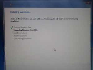 How to install Windowos