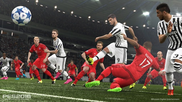Pes 2016 in action