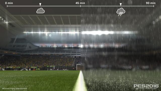 Pro evolutioon soccer rain secon half