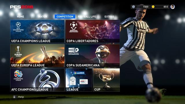 Start Background pro evolutrion soccer