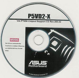 ASUS P5VD2-X ETHERNET WINDOWS DRIVER DOWNLOAD