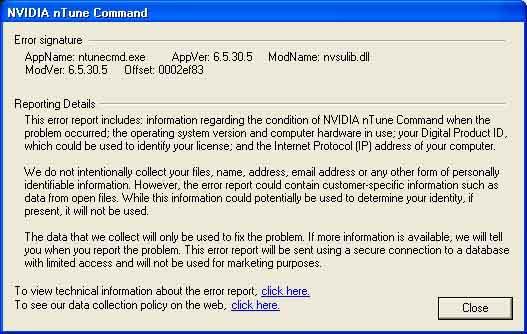 Nvidia nTune Command
