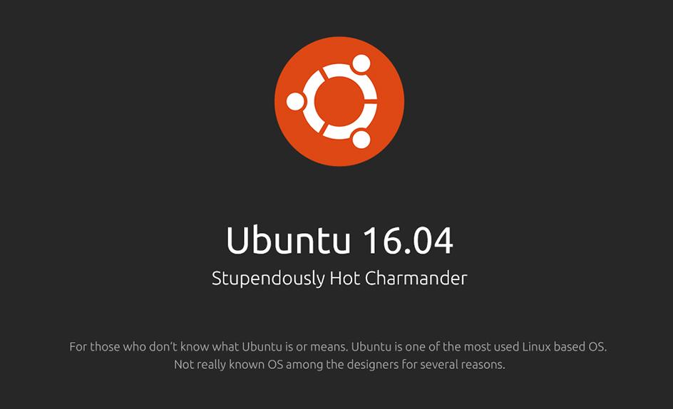 Ubuntu 16.04 LTS Released