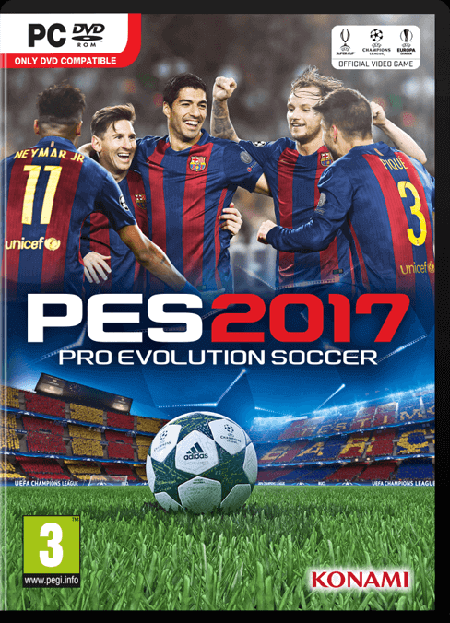 Today Officially released Pro evolution soccer 2017