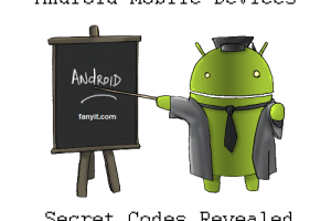 Android Mobile Devices Secret Codes