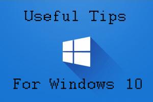 Windows 10 users