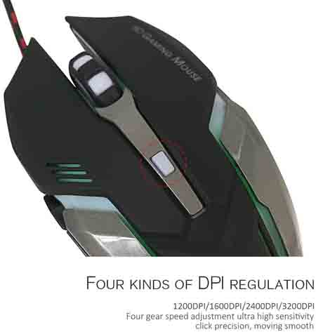 FARSIC 6D Optical Gaming Mouse