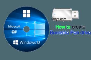 Bootable Pen drive copy