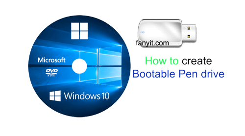Bootable Pen drive copy