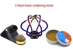 3 Must have soldering tools