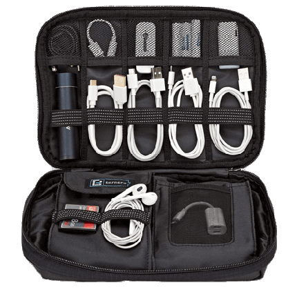 Travel Cable Organizer Electronics Accessories