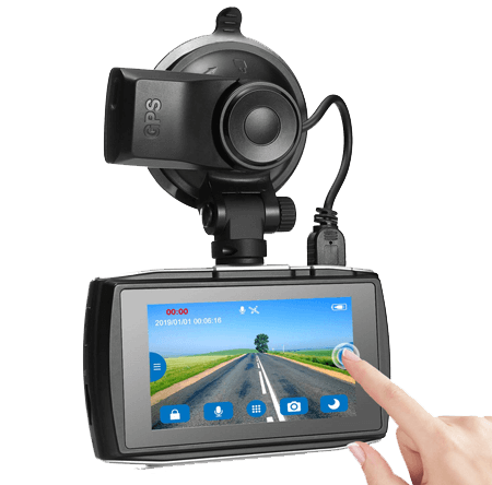 Z-Edge T3 Dash Cam 3 Touch Screen