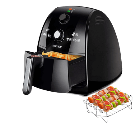 Secura Air Fryer 4.2Qt 4.0L