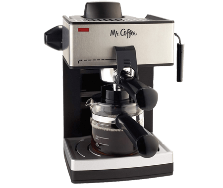 Mr. Coffee 4-Cup Steam Espresso System