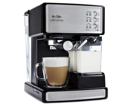 Mr. Coffee Café Barista Espresso and Cappuccino Maker