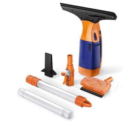 BESTEK Telescopic Window Vacuum Cleaner