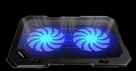 2-Fan 12-15.6 inch Laptop Cooling Pad