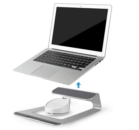 Laptop Desk with 1 Fan
