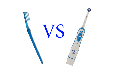 electric vs manual toothbrush