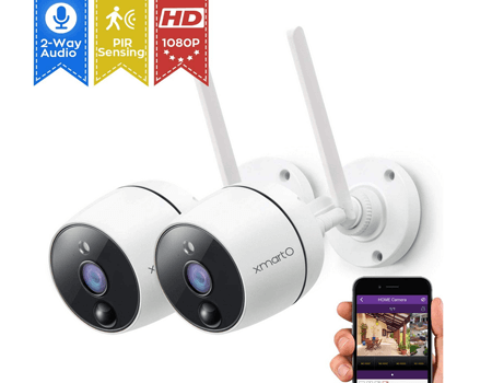 xmartO 1080P Full HD Wireless Security Camera