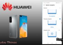 Huawei Navigations bar