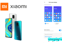 Xiaomi Navigation bar change