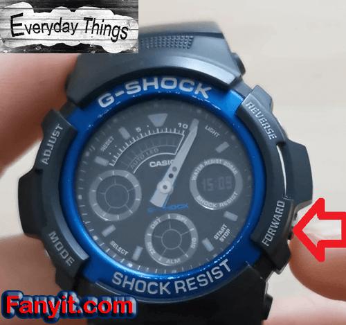 G-Shock forward