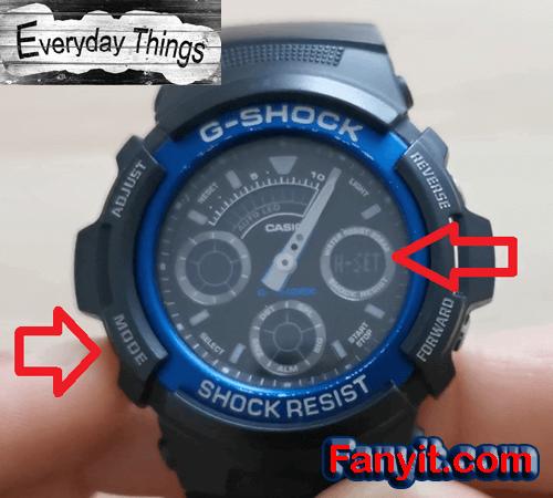 G-shock H-set