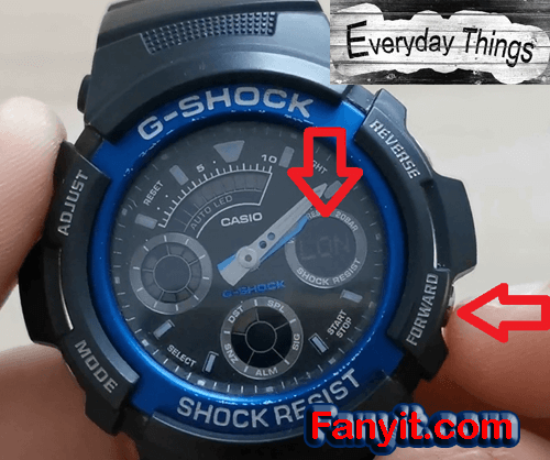 G-shock Time zone